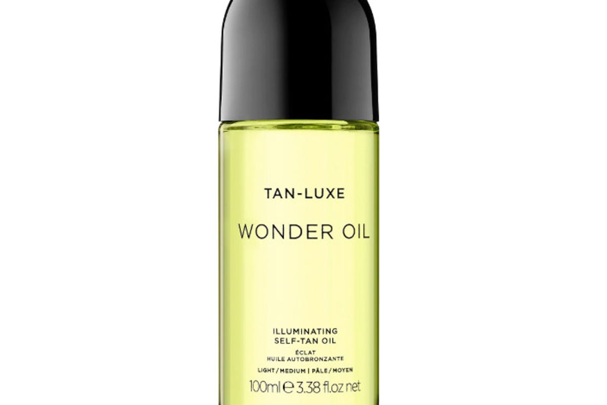 tan luxe wonder oil illuminating self tan oil
