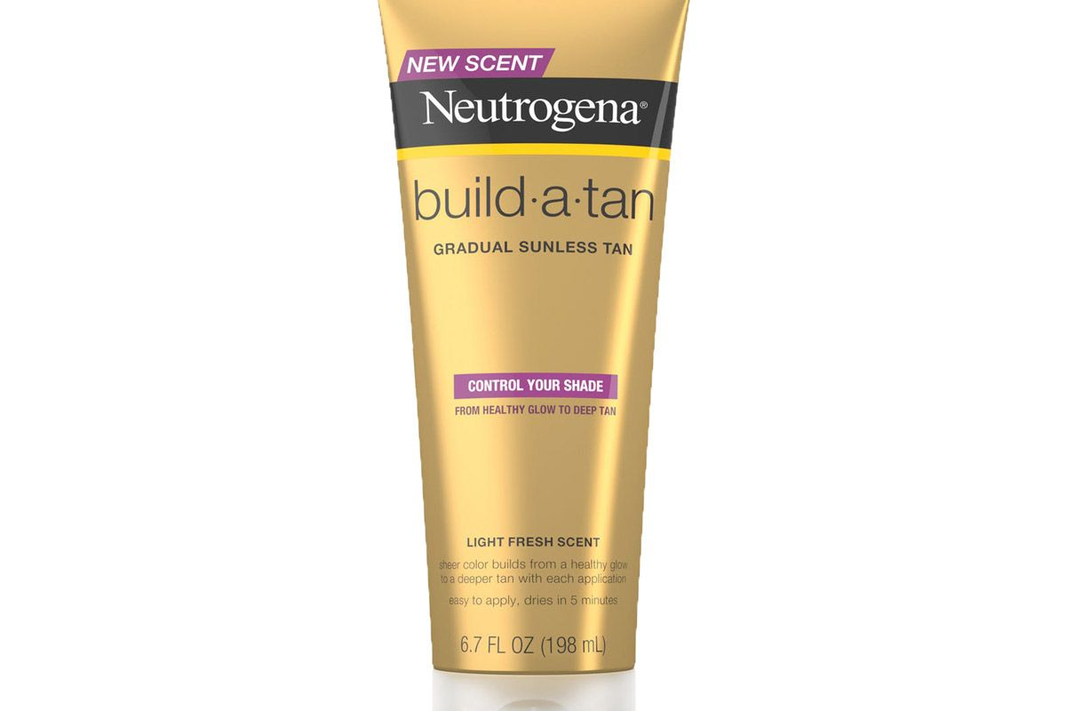 neutrogena build a tan gradual sunless tan lotion