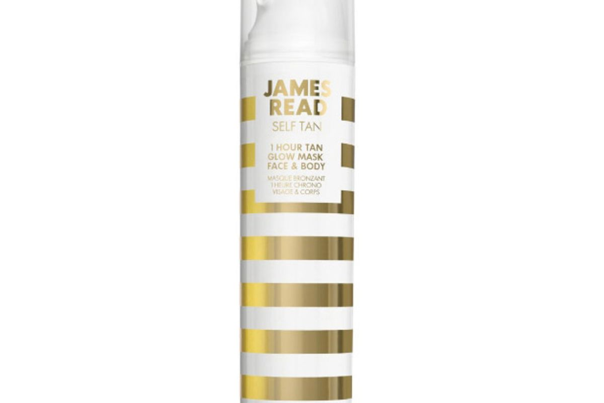 james read 1 hour tan gow mask face and body