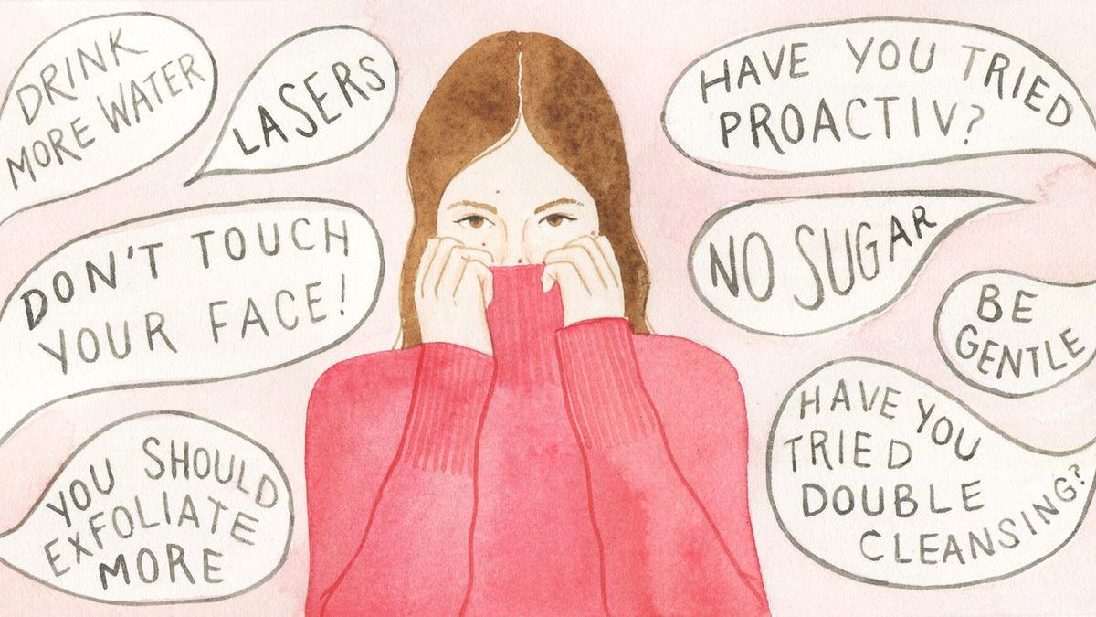 how beauty editors get rid of acne fast