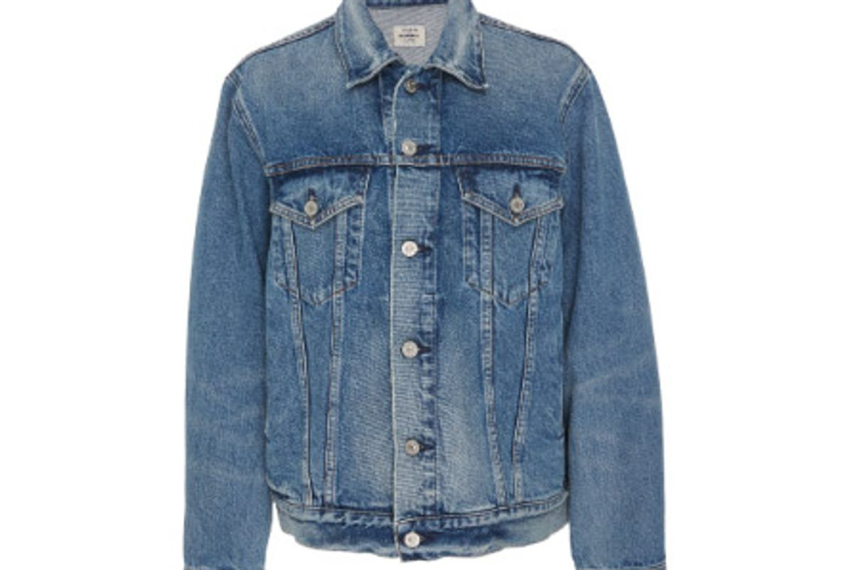 citizens of humanity ilana relaxed jacket in rebound