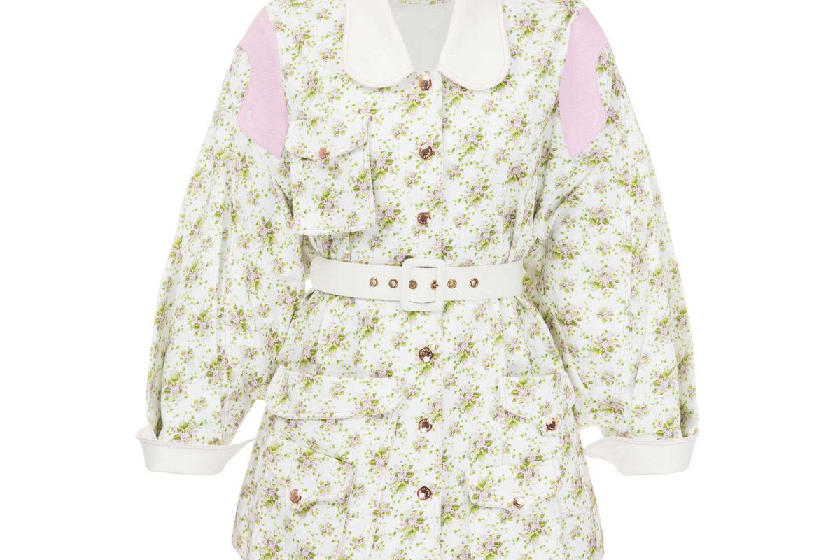 the coat cotton jacket