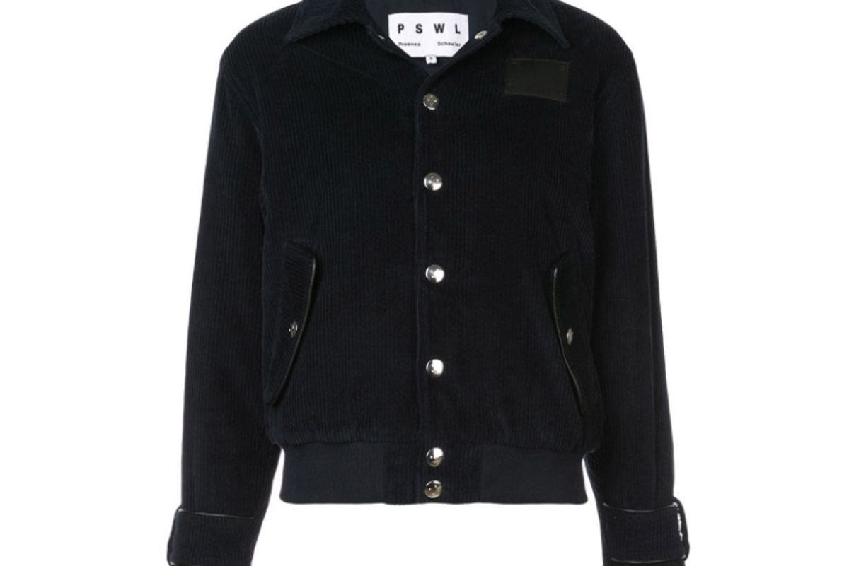 proenza schouler pswl wide wale corduroy jacket