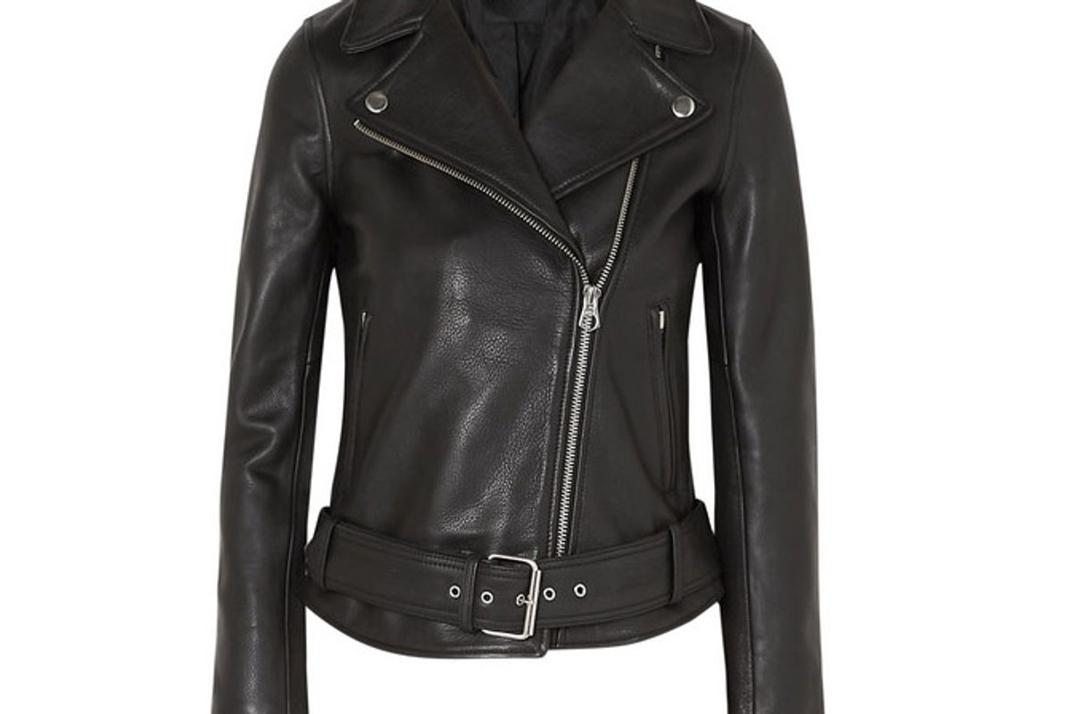 madewell ultimate textured leather biker jacket