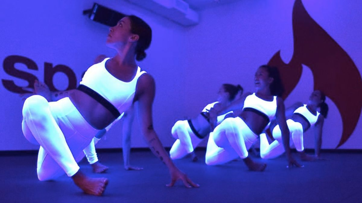 Is Blacklight Yoga the Cure for Your Terrible Yoga Form?
