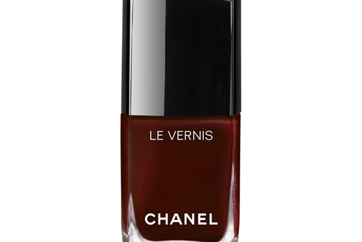 Le Vernis Longwear Nail Colour in Rouge Noir