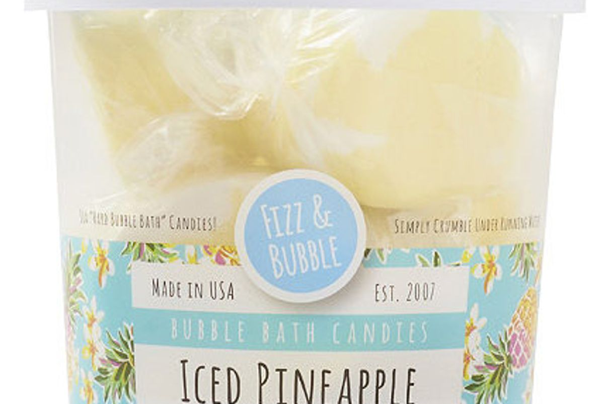 Iced Pineapple Bubble Bath Candies
