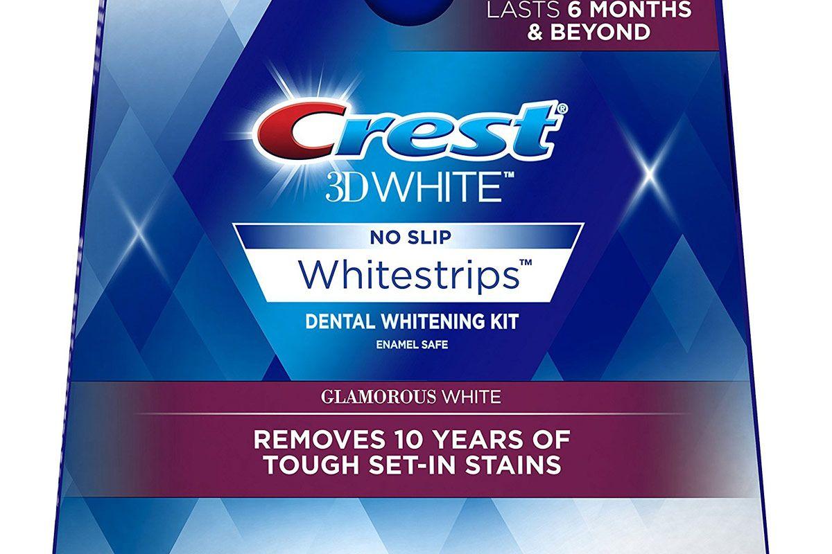 3D White Glamorous Whitestrips Dental Whitening Kit