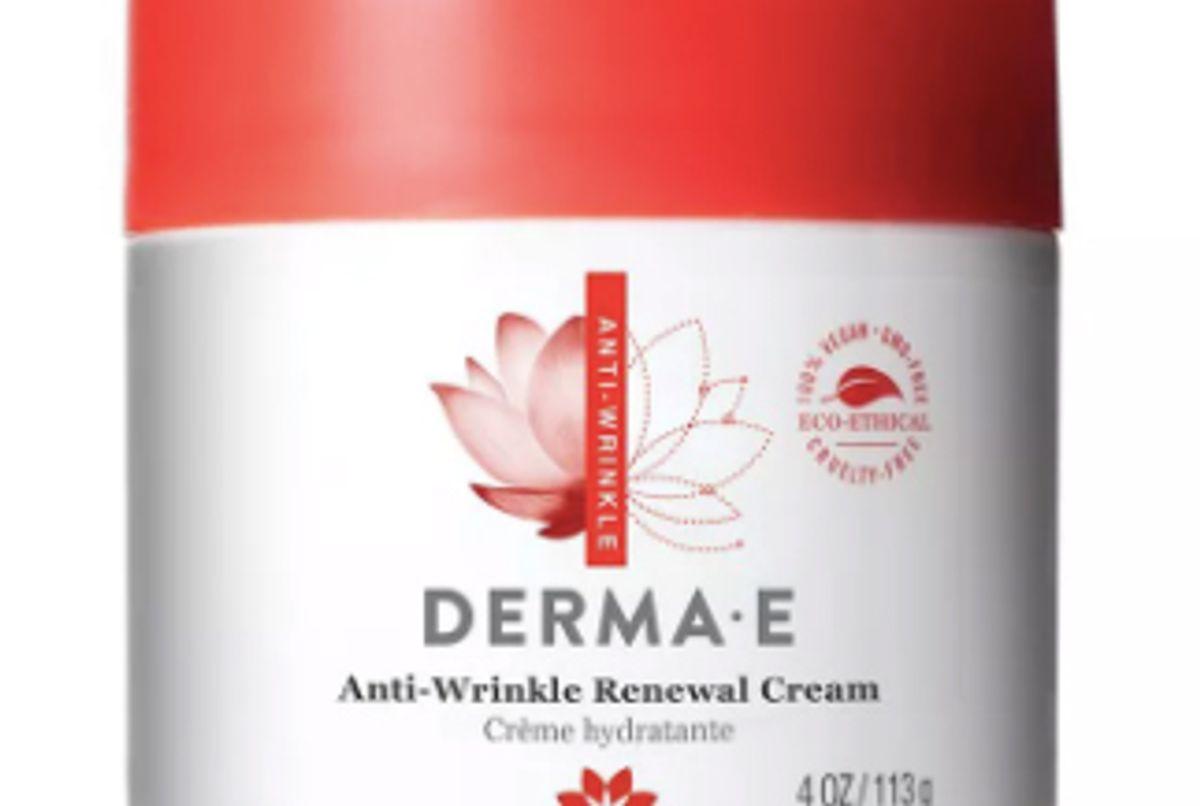 derma e anti wrinkle renewal cream
