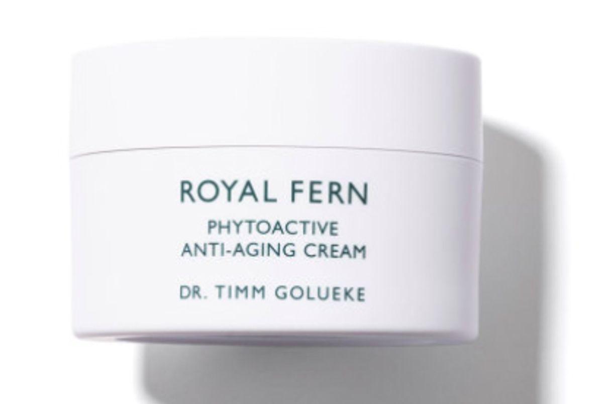 royal fern phytoactive anti aging cream