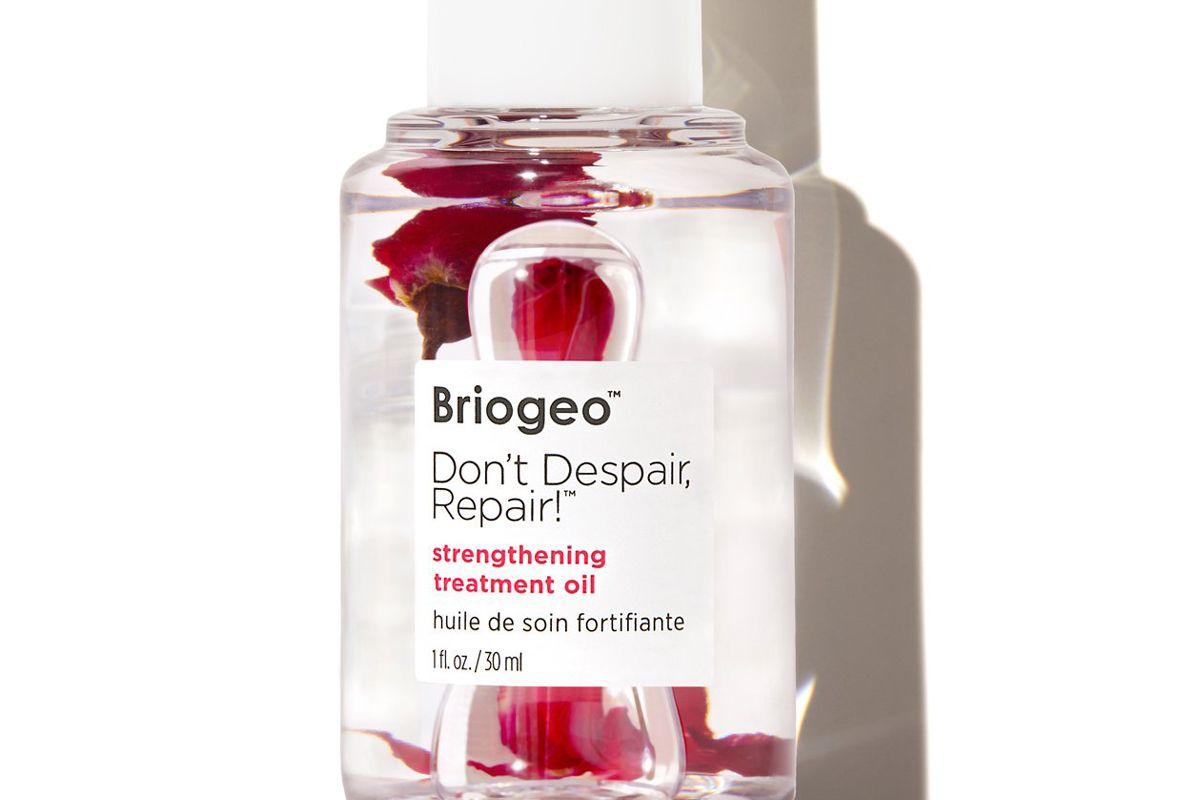 briogeo don't despair repair strengthening treatment hair oil