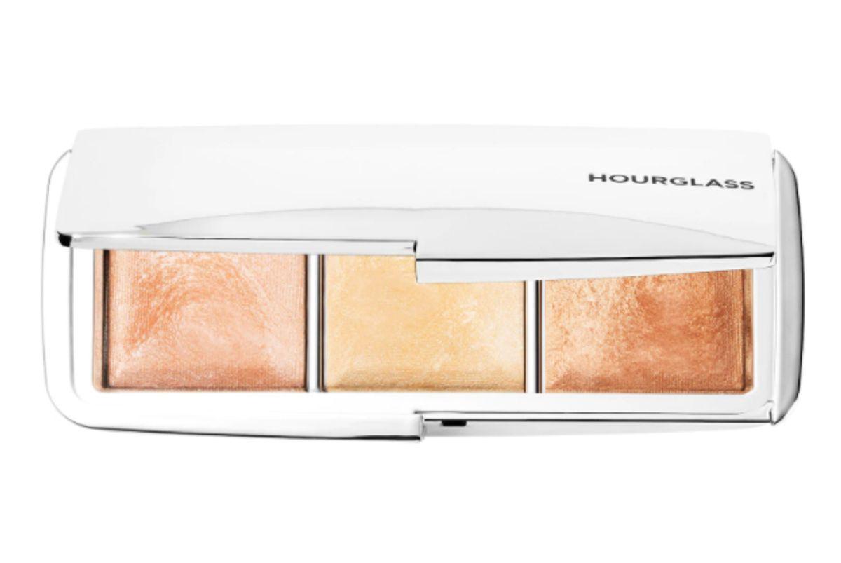 hourglass ambient metallic strobe lighting palette