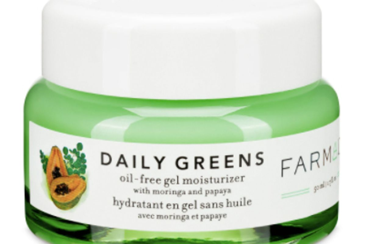 farmacy daily greens oil free gel moisturizer with moringa and papaya