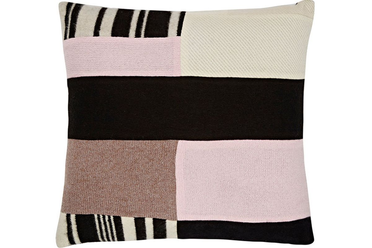 Patchwork Cashmere Pillow