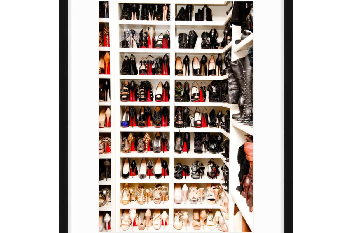 coveteur original print a closet fit for a kardashian