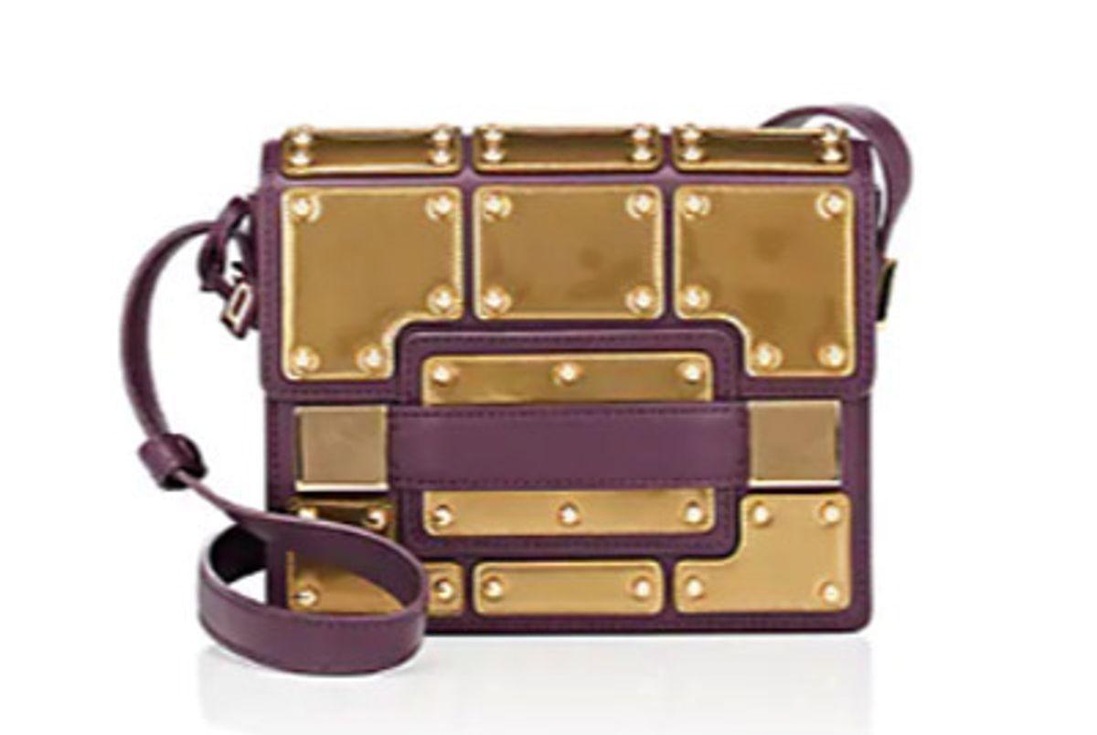 delvaux madame mini leather shoulder bag