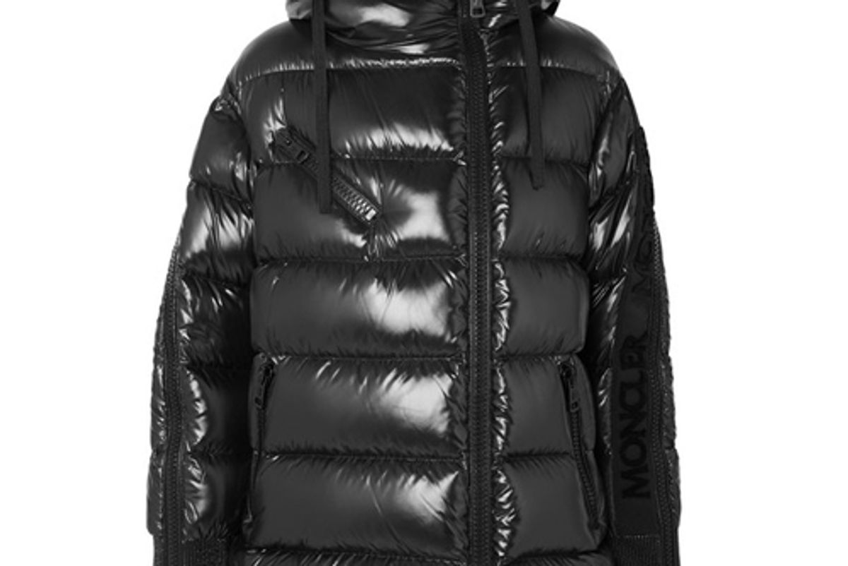 moncler genius lipriope quilted shell down jacket