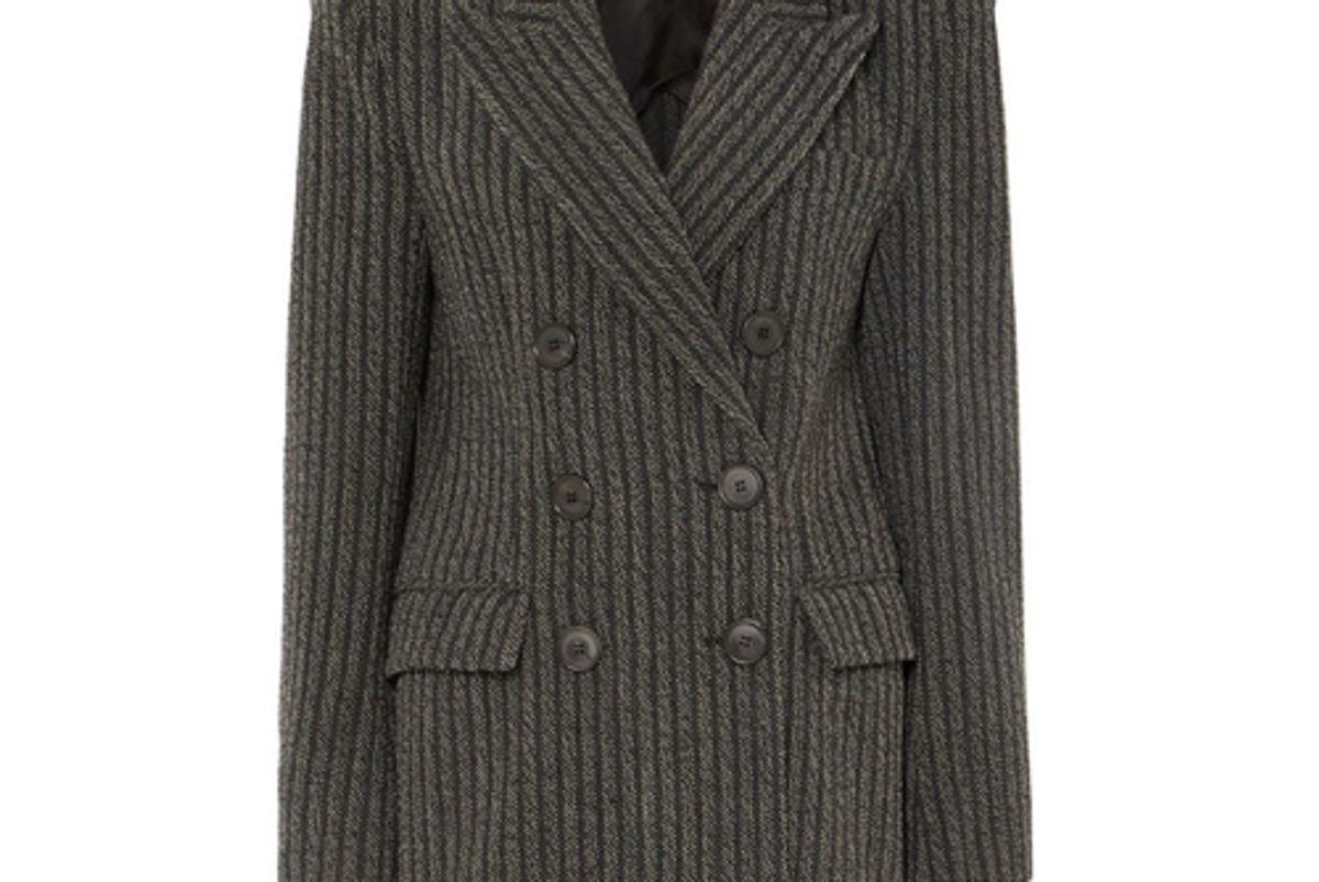 isabel marant jaxen double breasted striped wool blend blazer