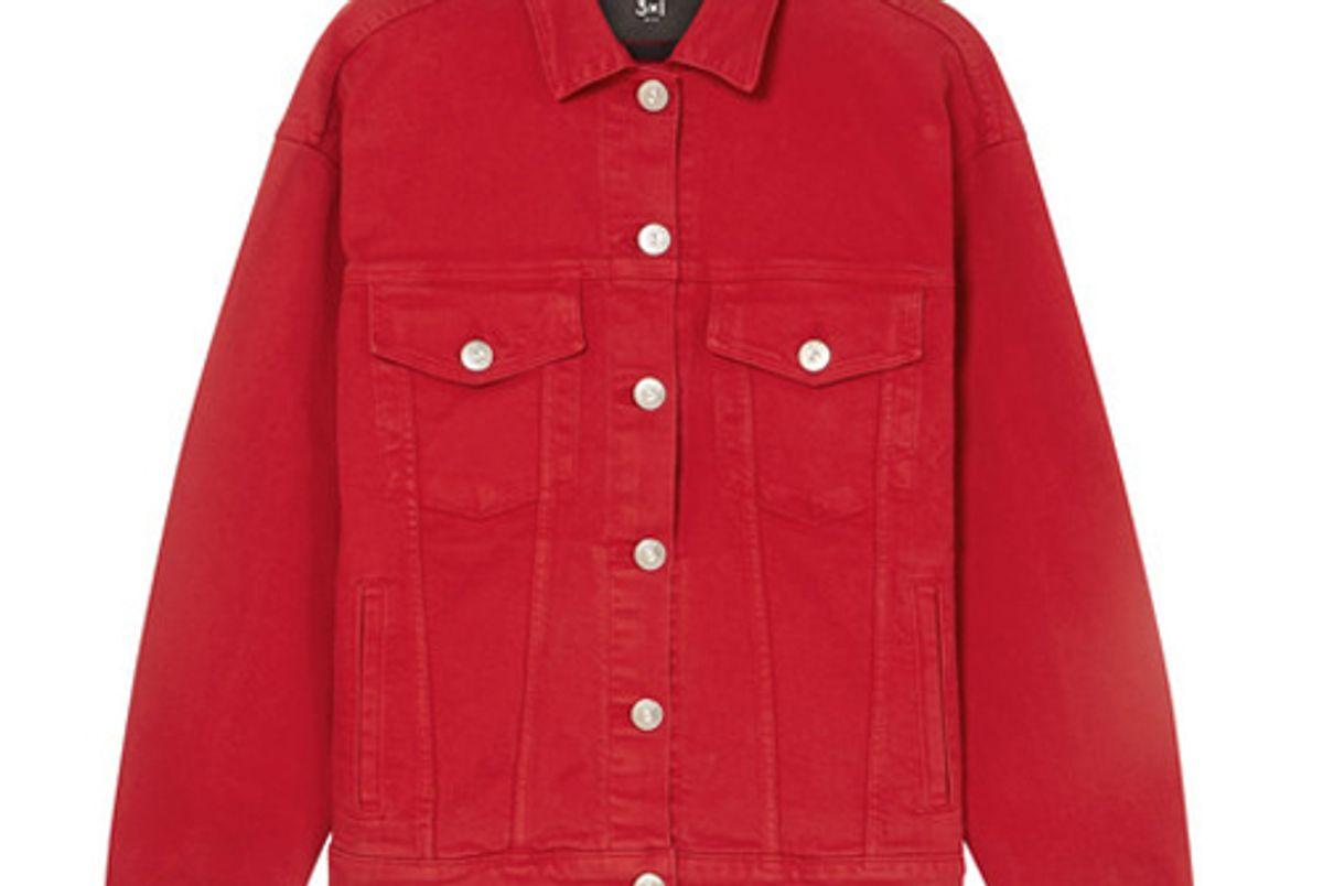 3 1 oversized denim jacket
