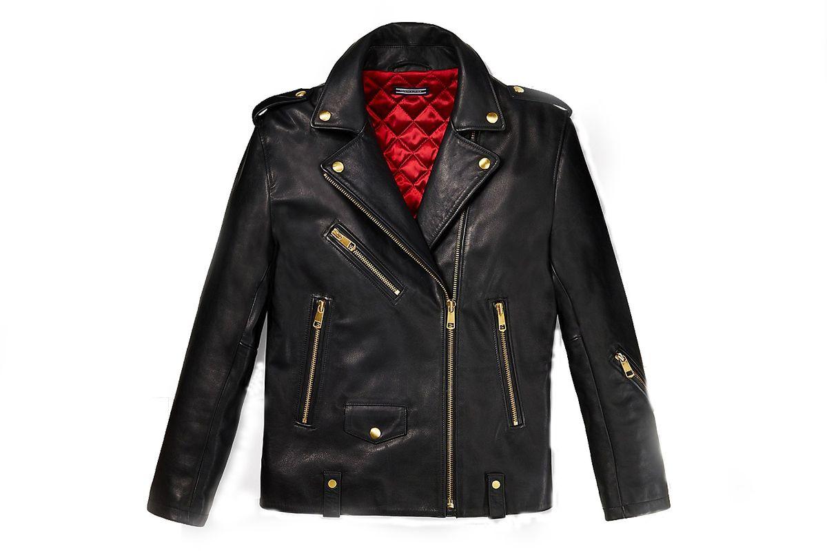 Leather Biker Jacket Gigi Hadid