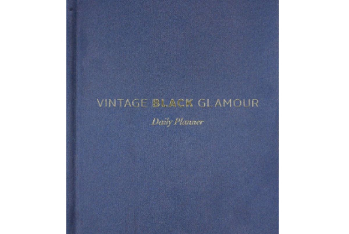 nichelle gainer vintage black glamour daily planner