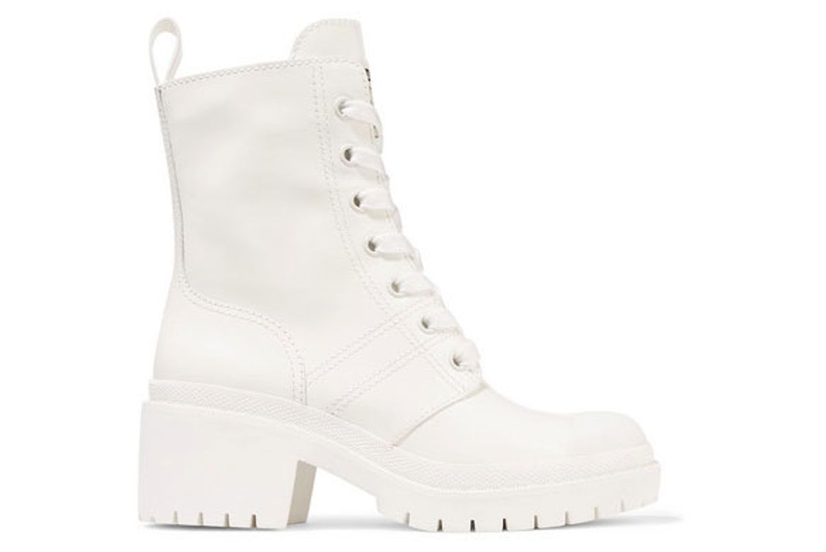 marc jacobs bristol glossed leather ankle boots