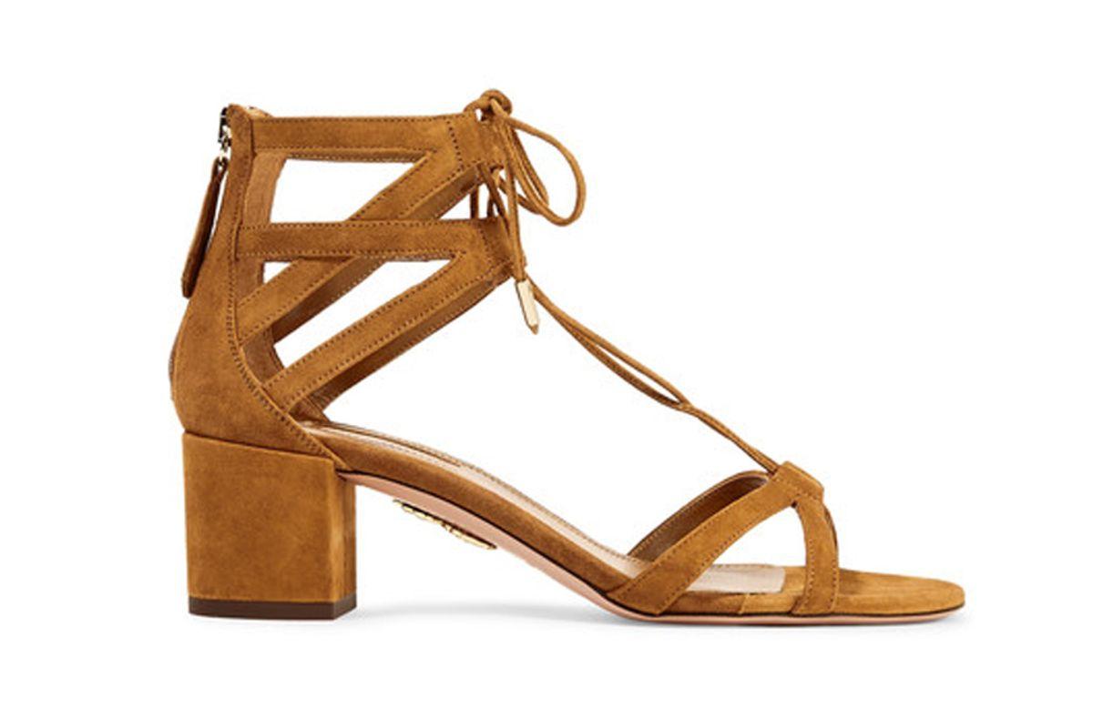 Beverly Hills Suede Sandals