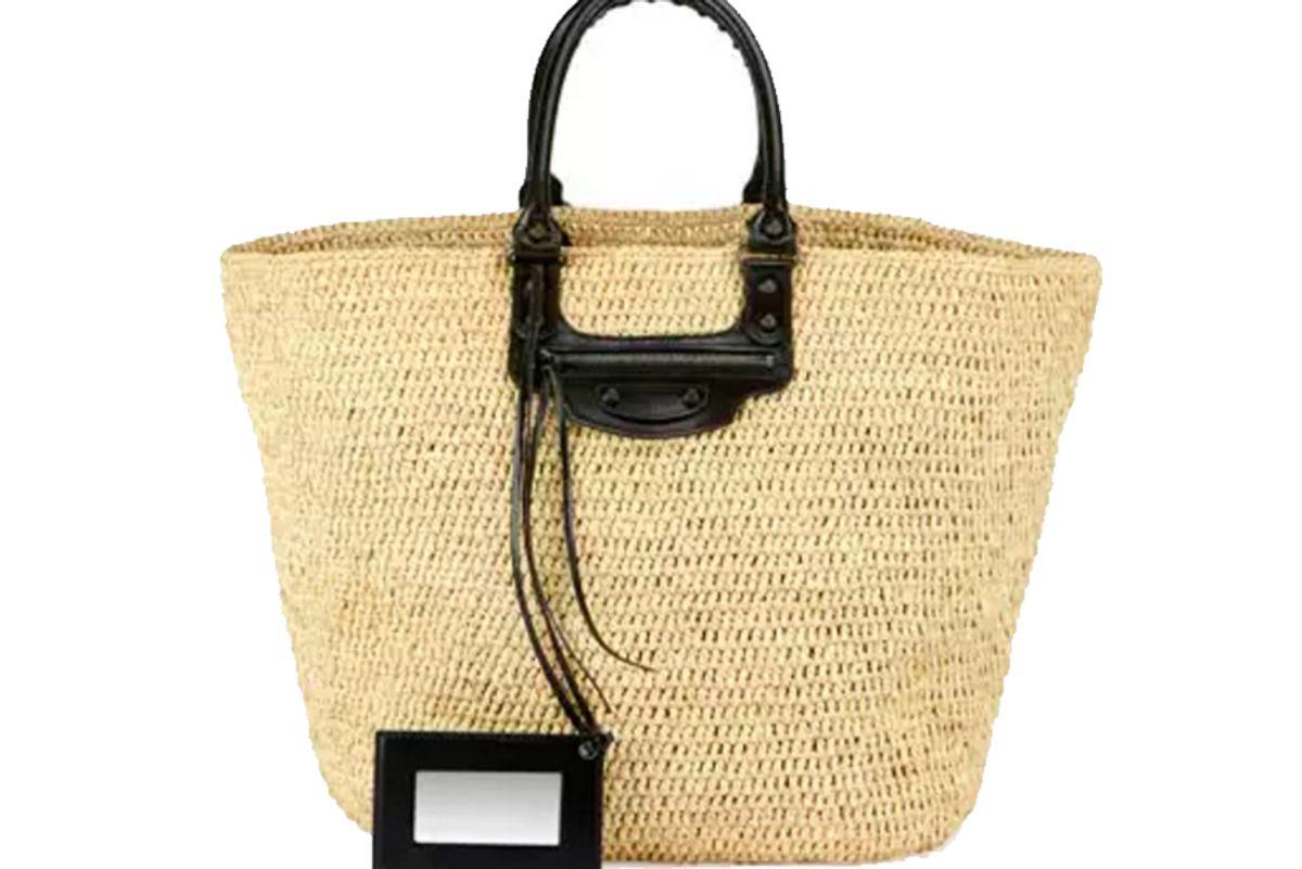 Large Panier Tote Bag