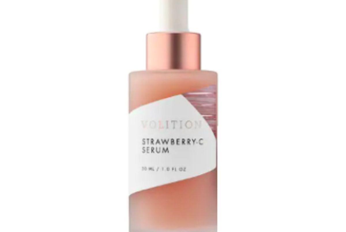 volition beauty strawberry c brightening serum