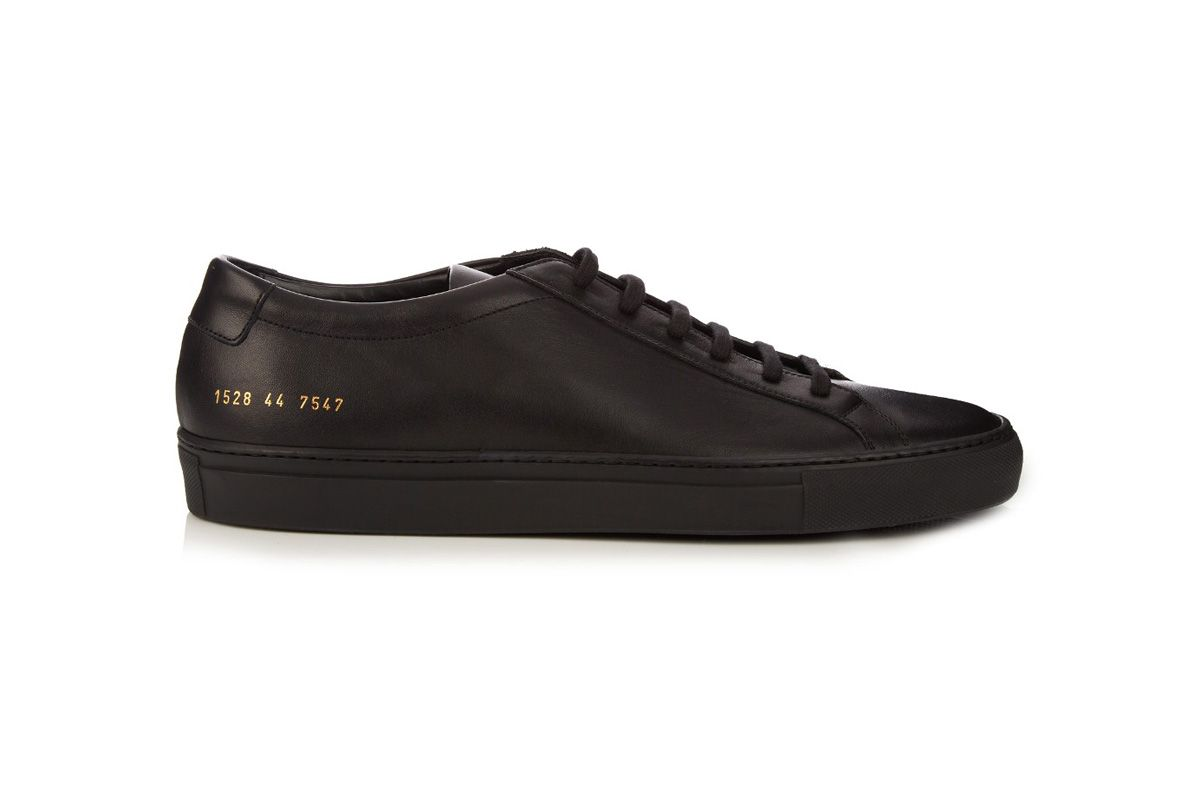 Original Achilles low-top leather trainers in black