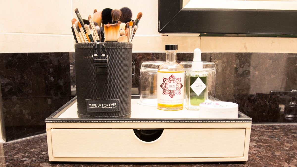 On the Road with Emily Blunt's Makeup Artist