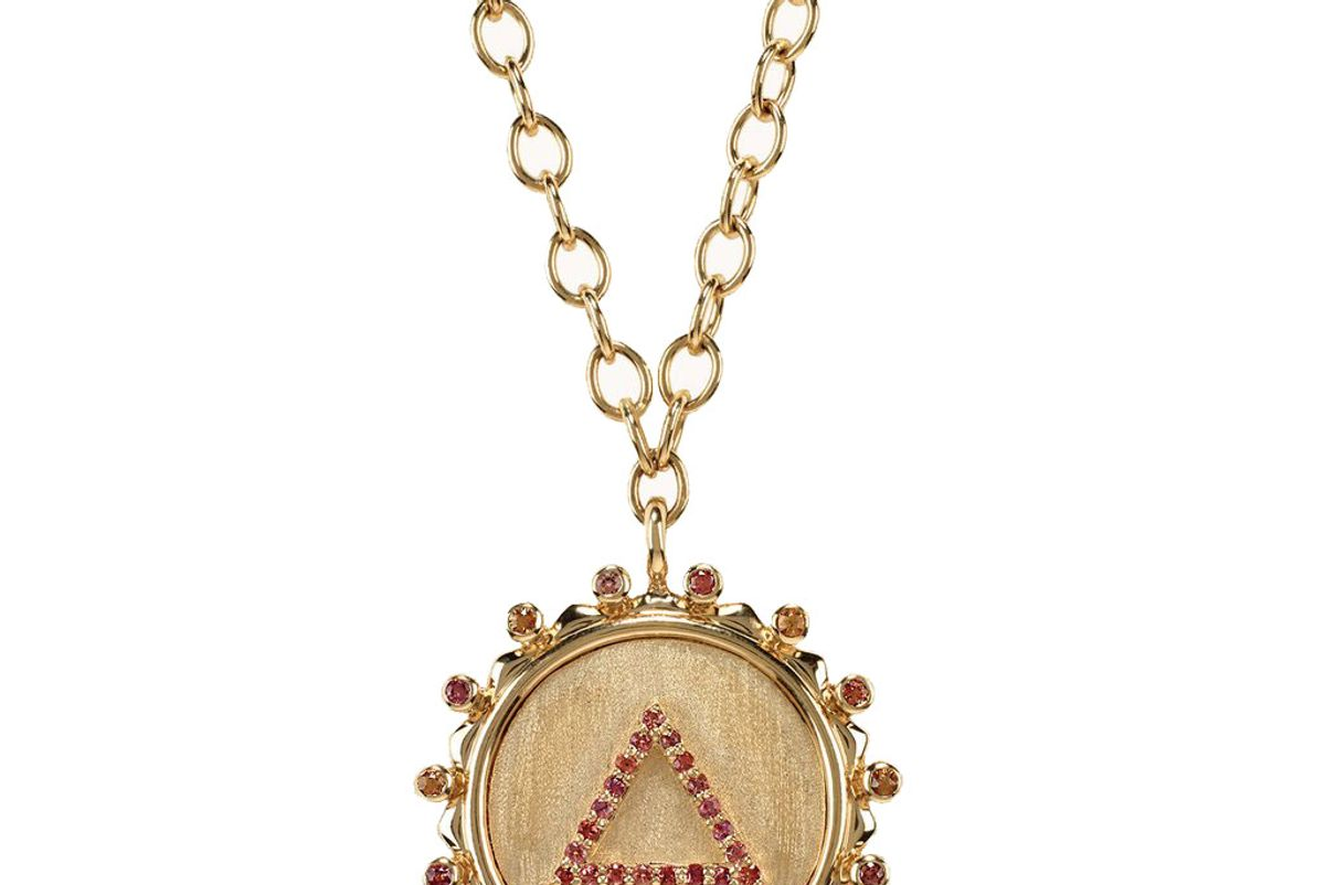marlo laz on fire element necklace