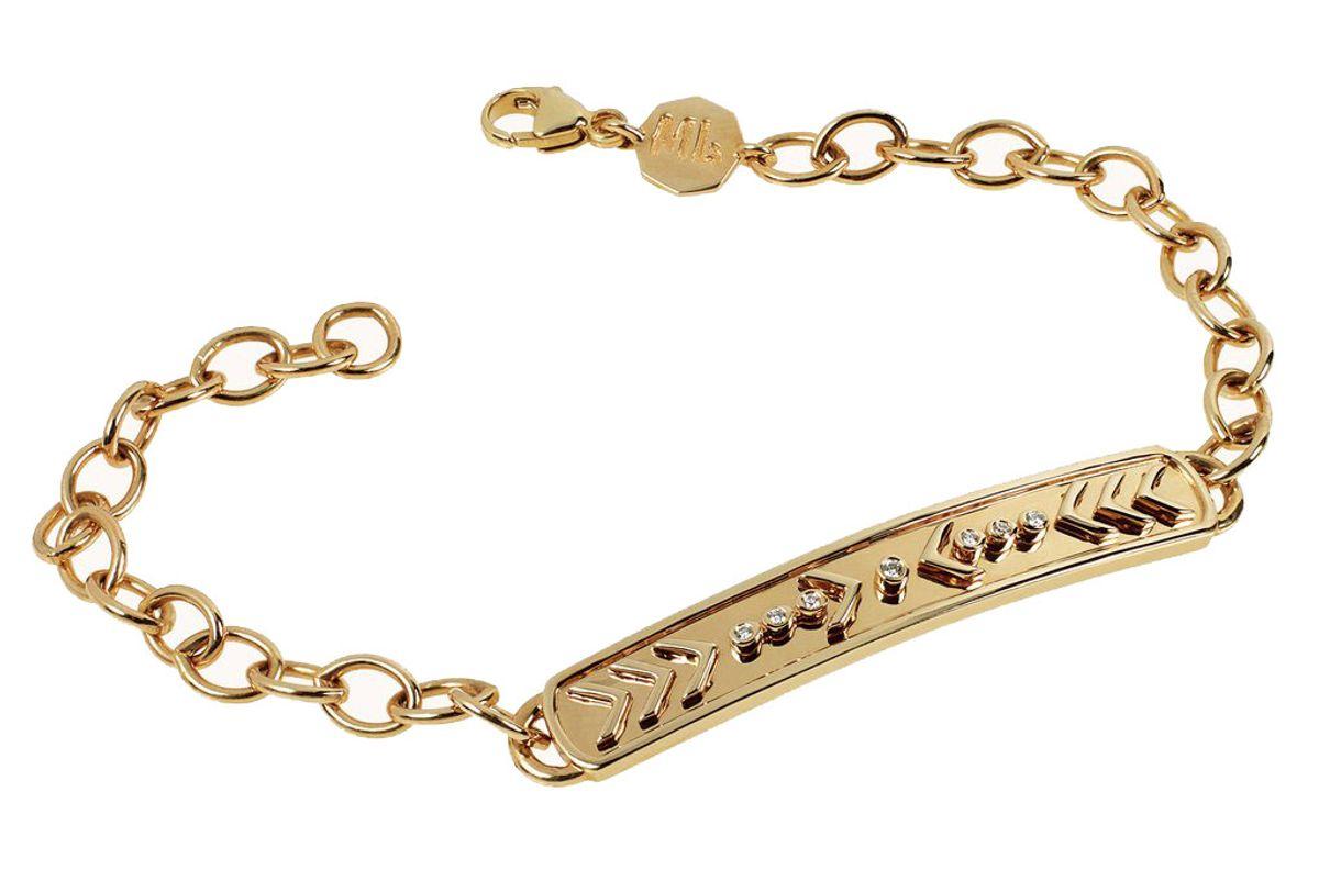marlo laz arrow id bracelet