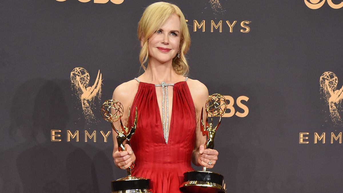 Exclusive: What Nicole Kidman Told Us Right Before Her Big Win