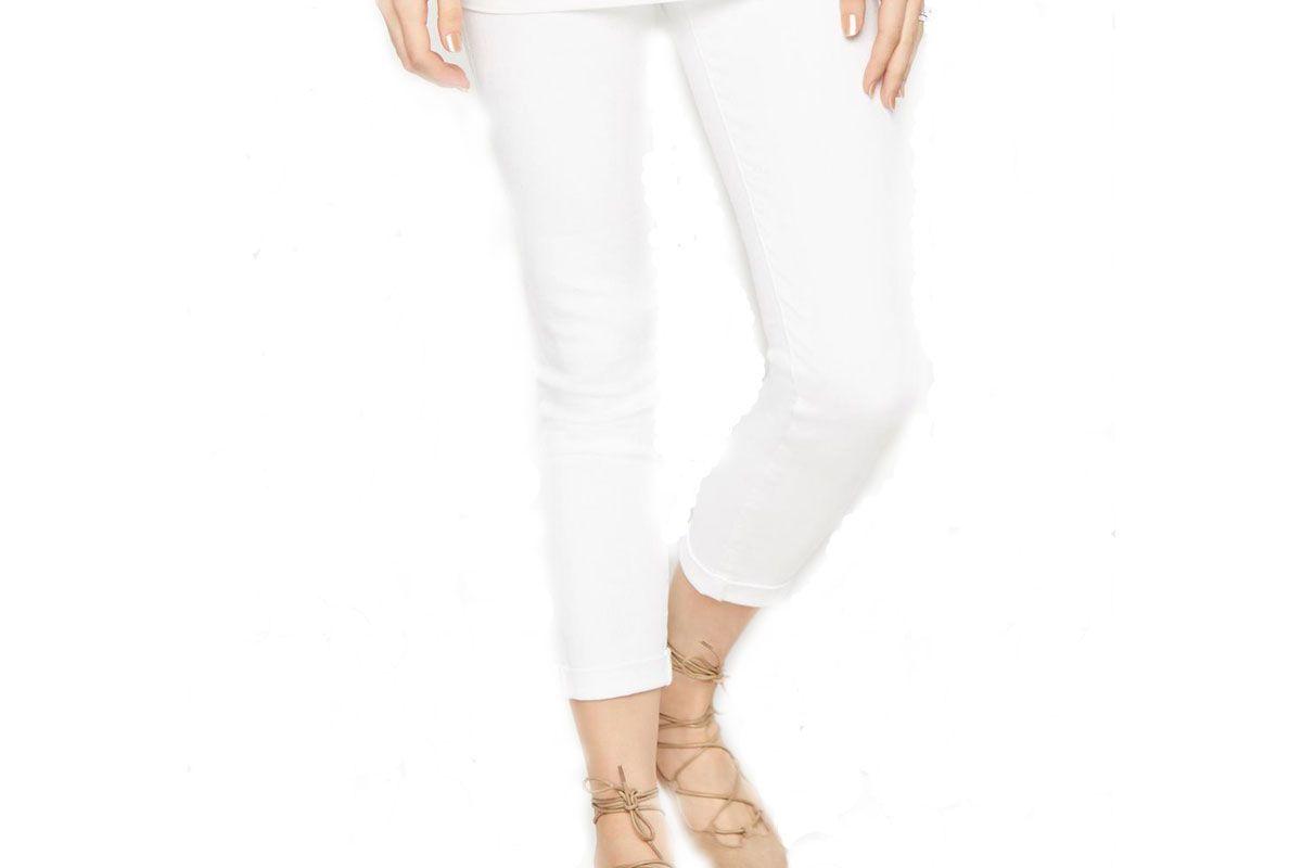 AG Secret Fit Belly Stilt Roll Up Maternity Jeans