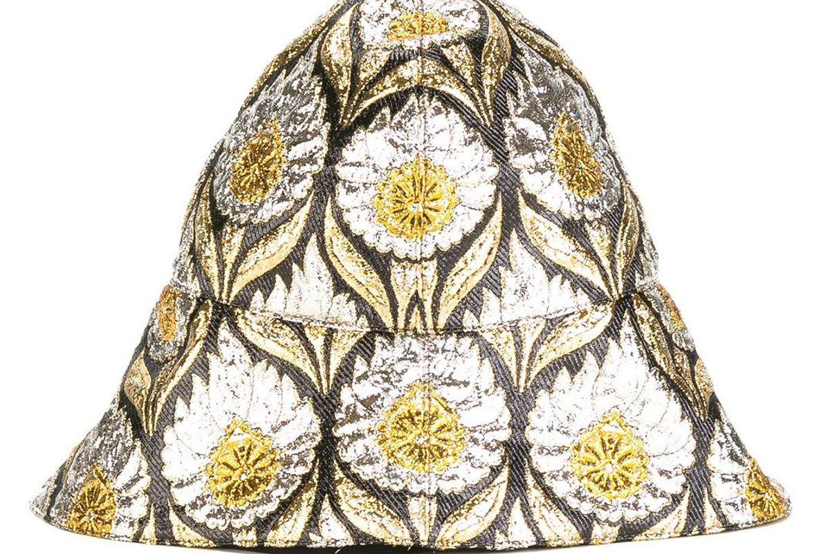 W Iris Lurex Bucket Hat