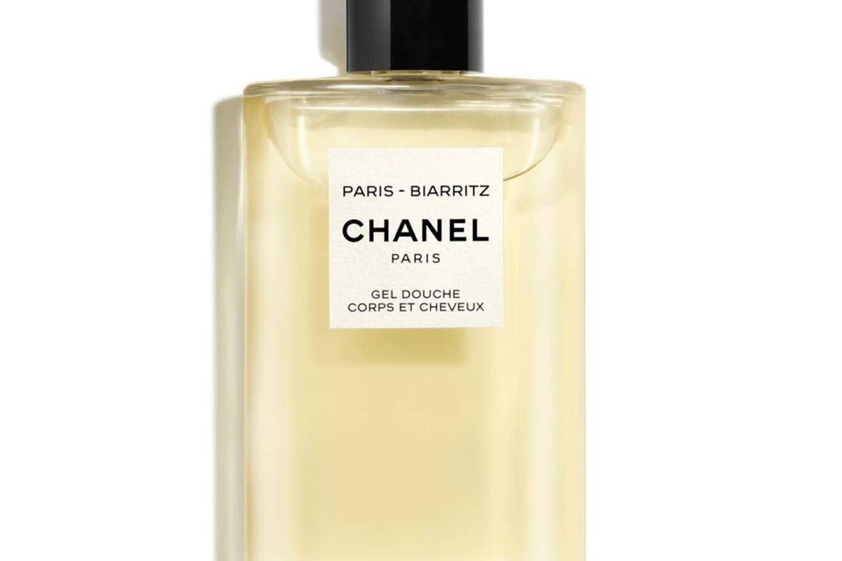 chanel les eaux de chanel paris biarritz perfumed hair and body shower gel