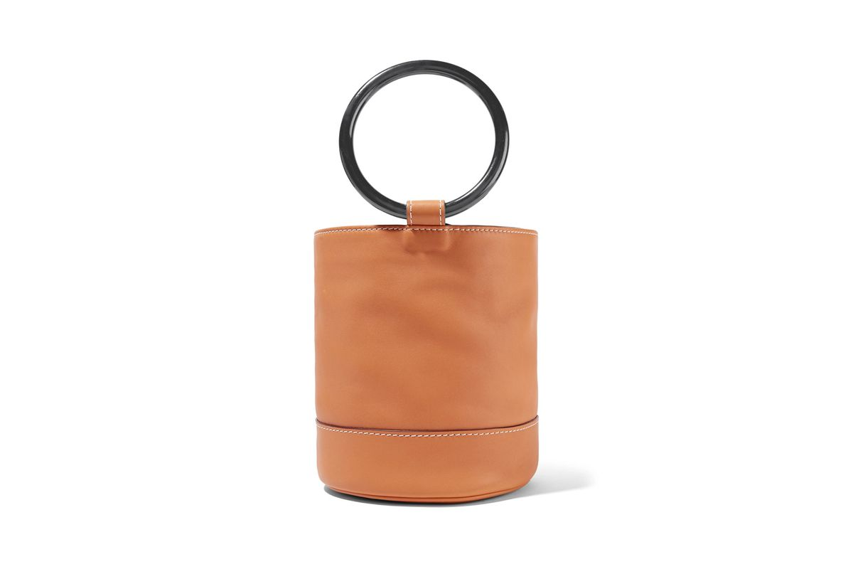 Bonsai leather tote