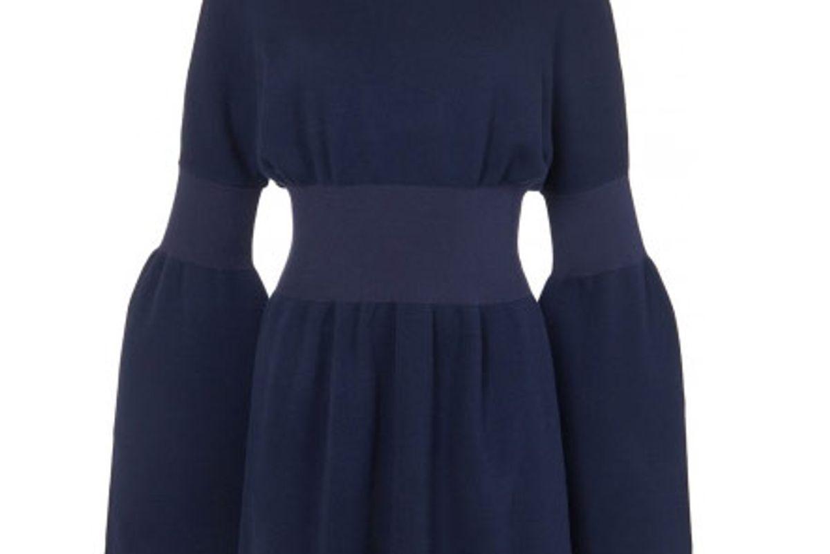 Merino Wool Sweater Mini Dress