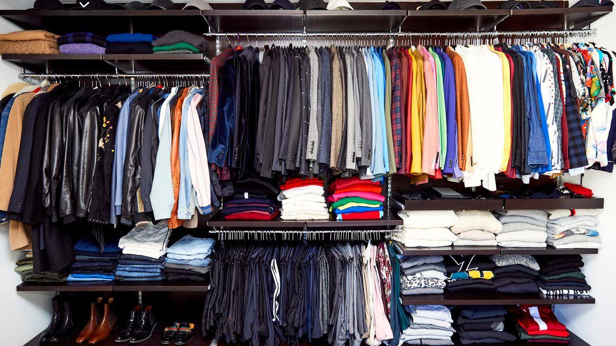 shop mens section