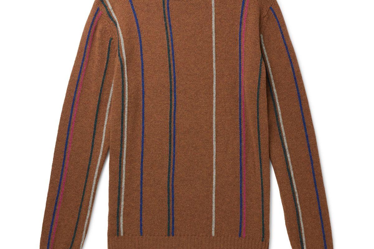 noah striped wool sweater