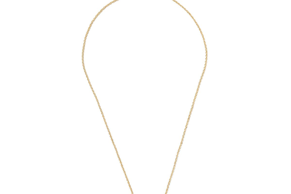 Love 18-karat gold diamond necklace