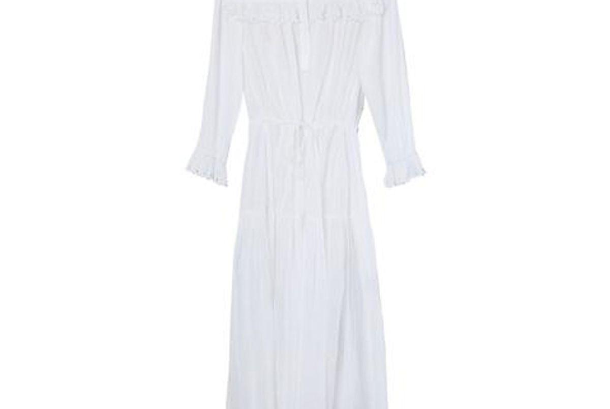isabel marant eina white dress