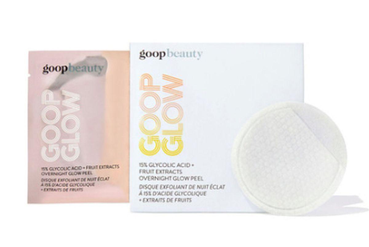 goop glow glycolic acid peel pads