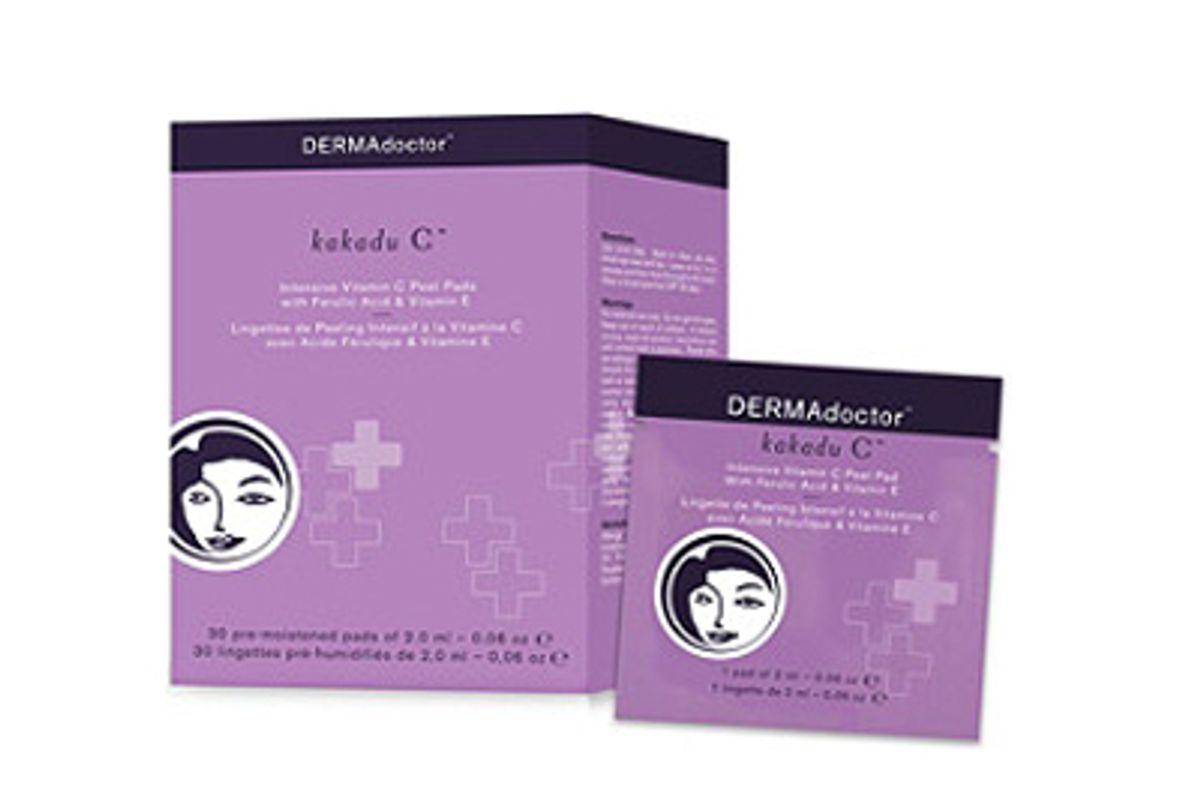 dermadoctor kakadu c intensive vitamin c peel pad with ferulic acid vitamin e