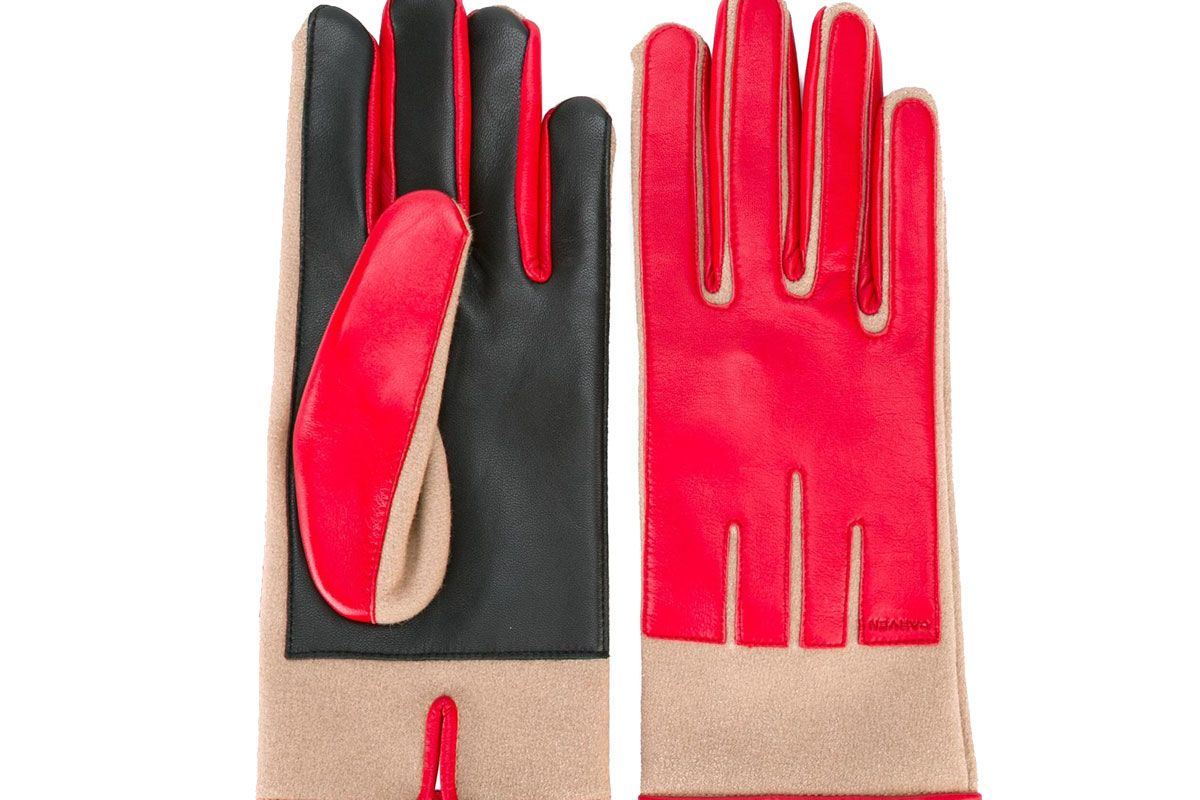 Panelled Gloves
