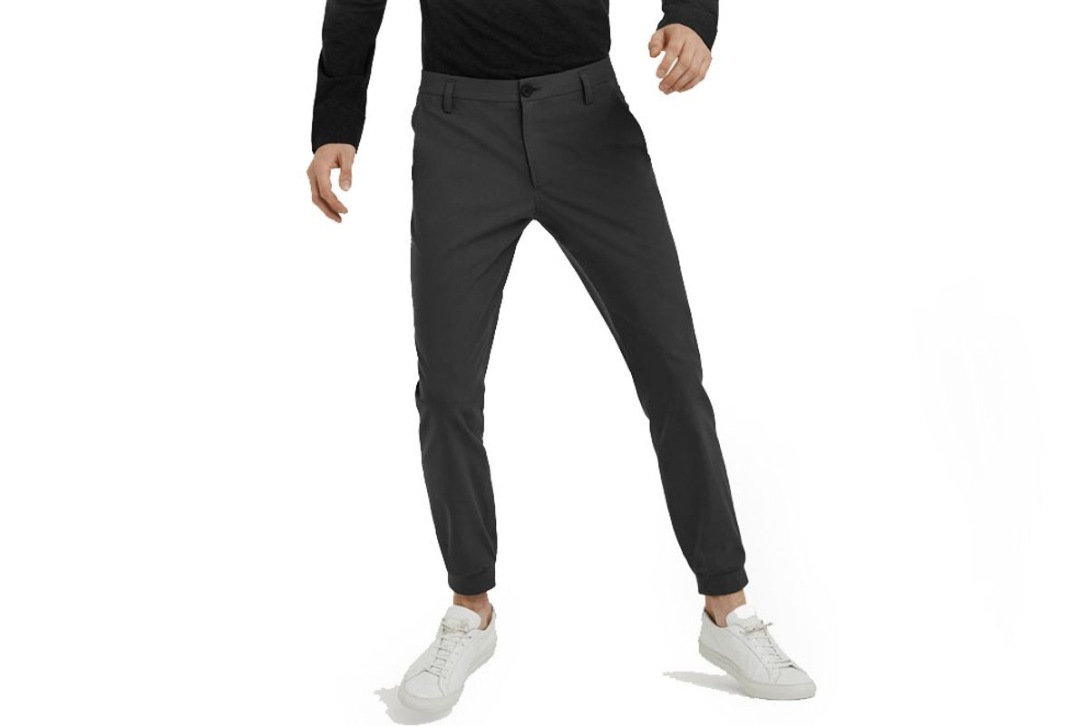 Executive Jogger in Heather Charcoal