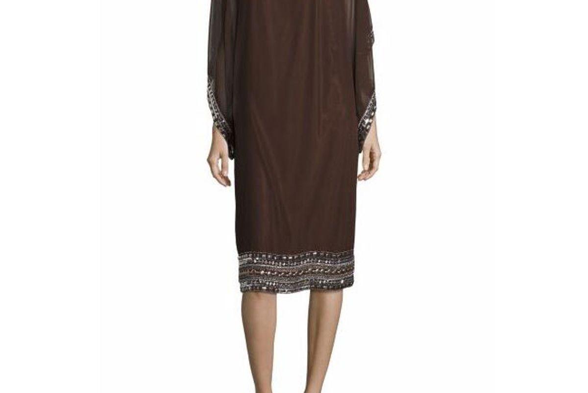 Plus Embellished Caftan Dress