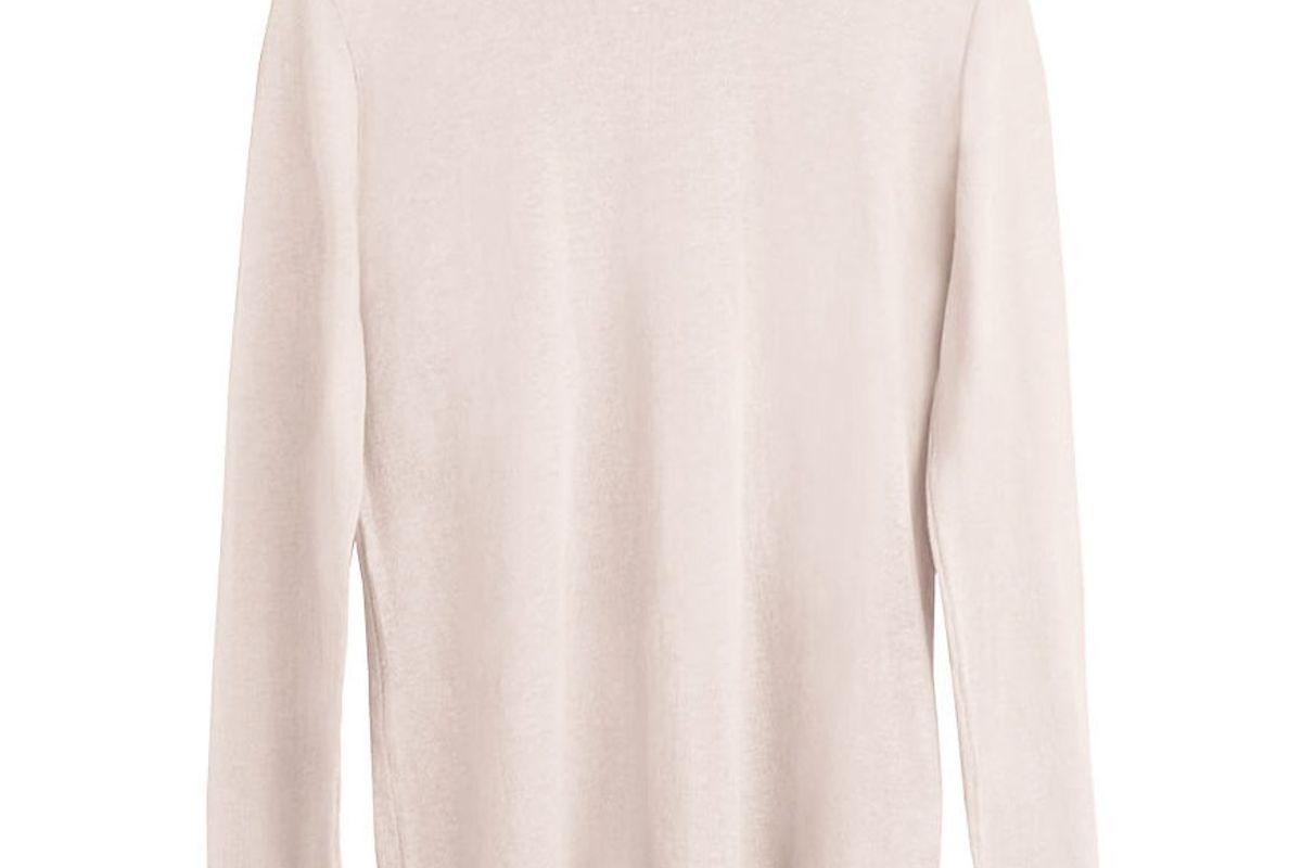 Cotton Cashmere Crewneck Sweater