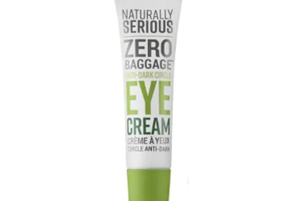 naturally serious zero baggage anti dark circle eye cream